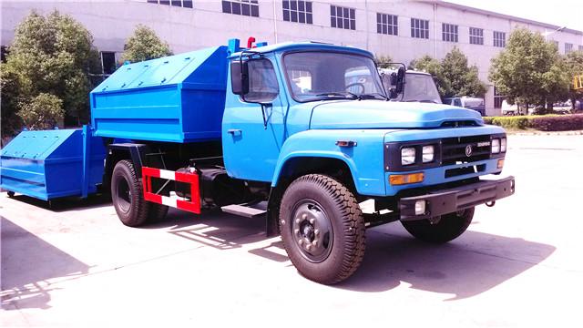 最新产品:东风140勾臂式垃圾车抢先看