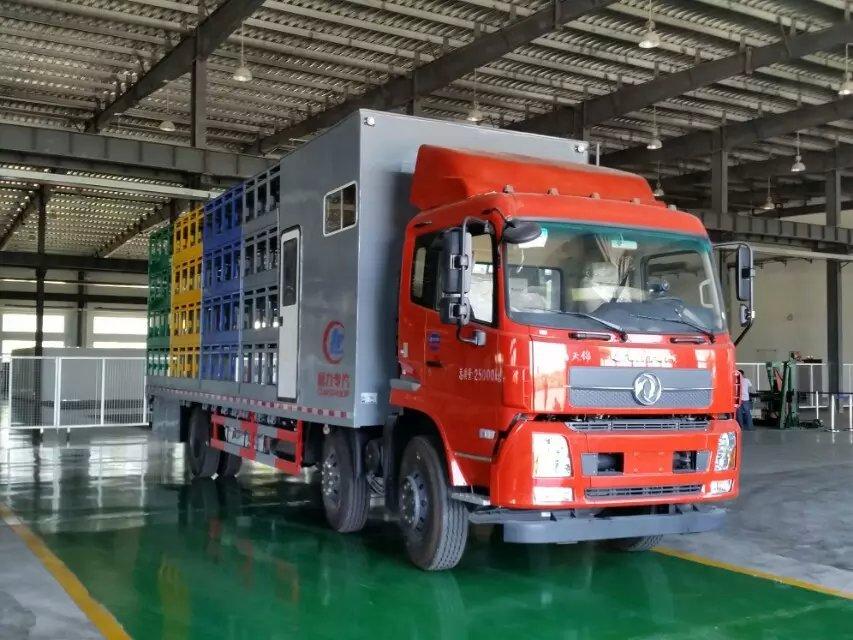 我公司推新款养蜂车:东风天锦前四后四养蜂车