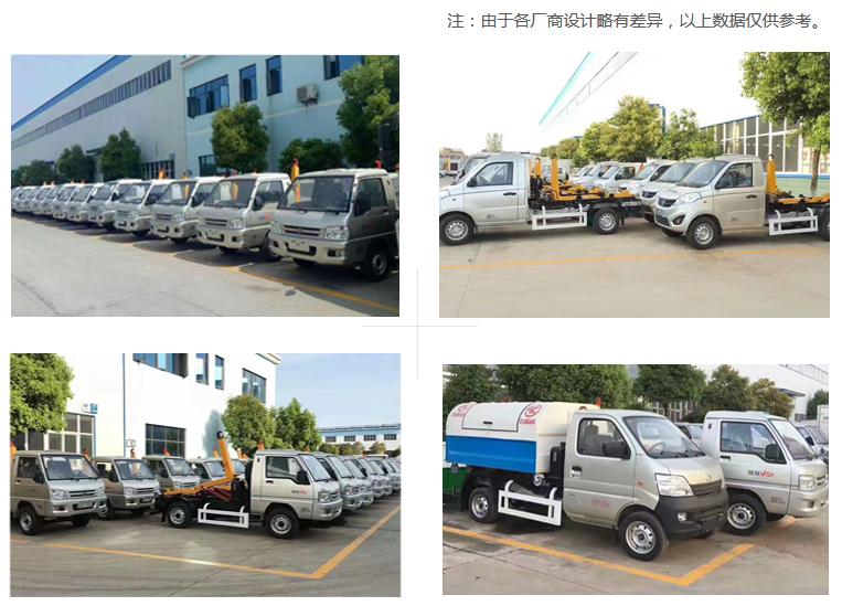 国五凯马车厢可卸式垃圾车多方位图片五