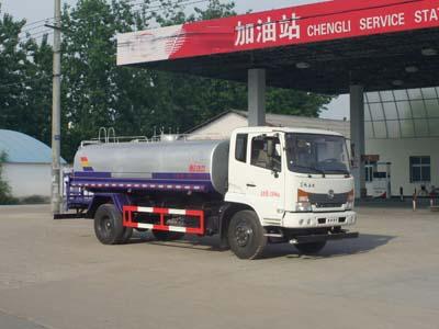 国五东风嘉运10吨绿化喷洒车多方位图片一