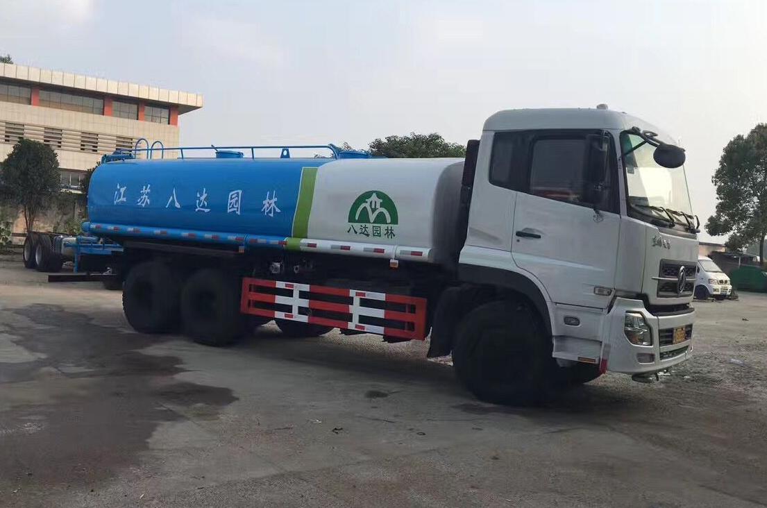东风特商国五20吨洒水车多方位图片三