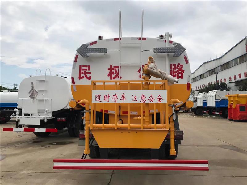 东风专底后双桥洒水车21吨多方位图片三