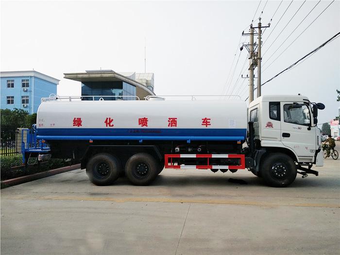 东风御龙后双桥洒水车(20吨)多方位图片四