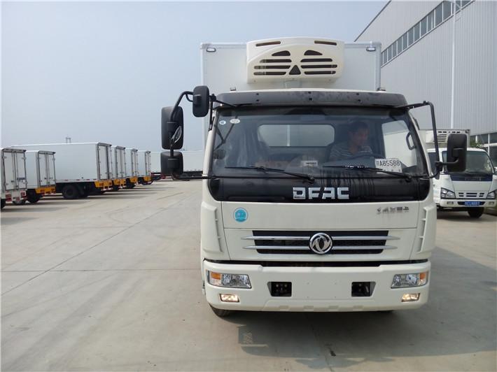 国五东风多利卡冷藏车5米1多方位图片二