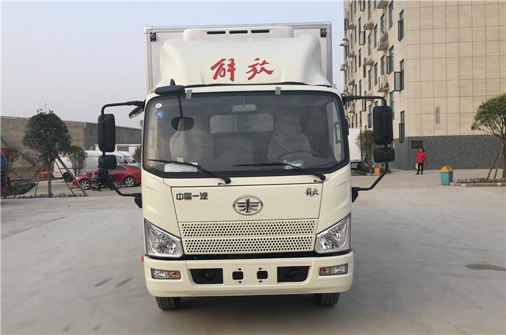 解放虎VH 5.2米冷藏车多方位图片四