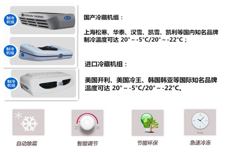 国五庆铃五十铃600P冷藏车