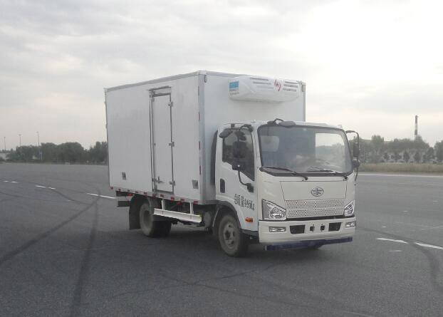 国五解放J6F冷藏车(蓝牌)多方位图片一