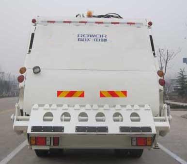 国五福田瑞沃压缩式垃圾车(天燃气)多方位图片二