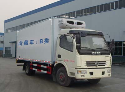 国五东风多利卡冷藏车5米1