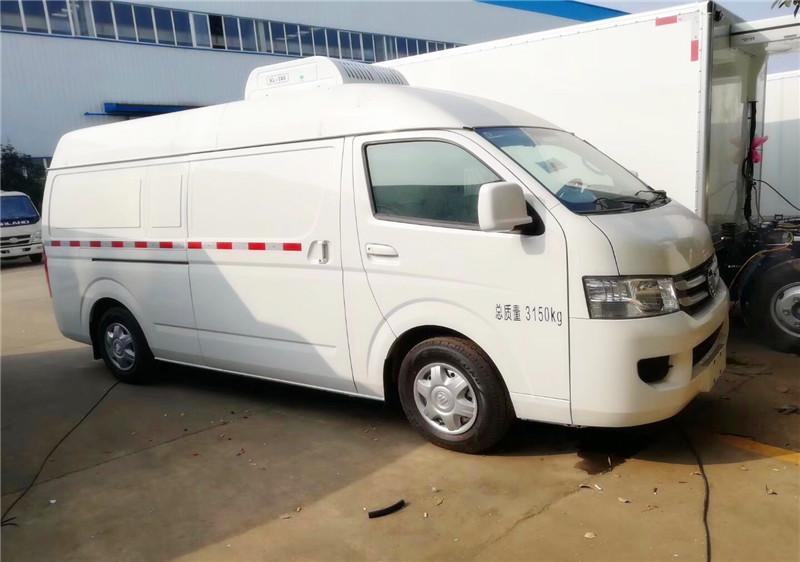 国五福田G7面包冷藏车