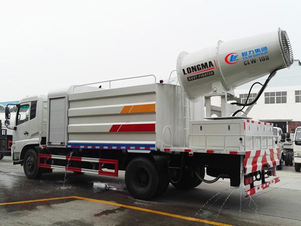 东风天锦雾炮车、多功能抑尘洒水车(12吨)多方位图片三