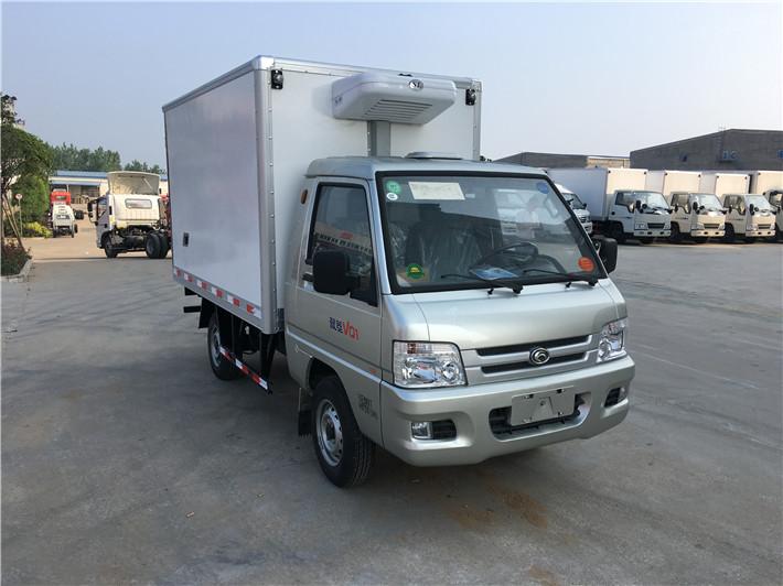福田驭菱冷藏车2.6米多方位图片三