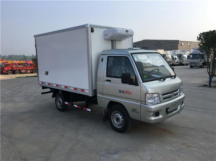 福田驭菱冷藏车2.6米多方位图片五