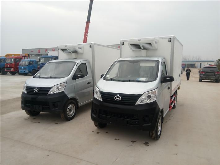长安国五小型冷藏车多方位图片五