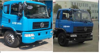 程力威牌CLW5161ZBSD5型摆臂式垃圾车多方位图片二