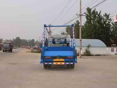 程力威牌CLW5161ZBSD5型摆臂式垃圾车多方位图片三