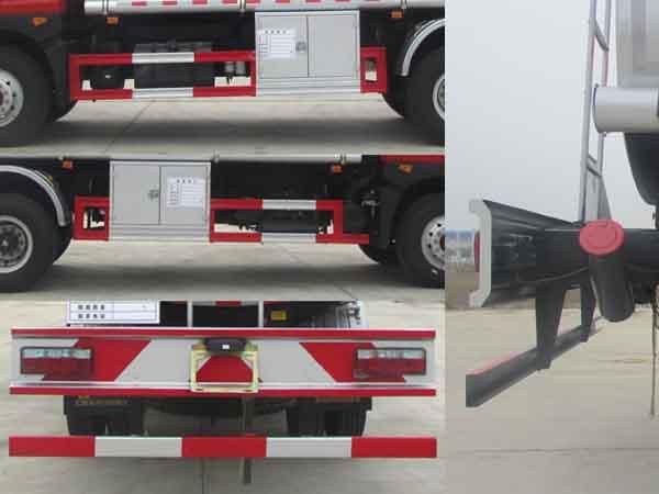 东风新款加油车12立方多方位图片五