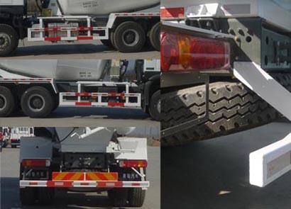 期太尔混凝土搅拌运输车多方位图片三