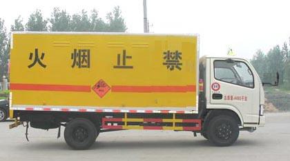 国五东风多利卡D6爆破器材运输车多方位图片三