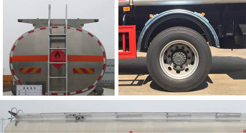 东风新款运油车21.5立方多方位图片三