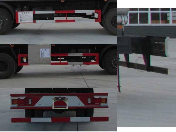 东风新款运油车21.5立方多方位图片五
