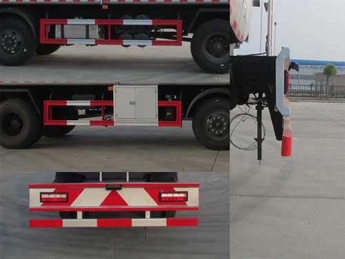 东风小三轴运油车21.5立方多方位图片四