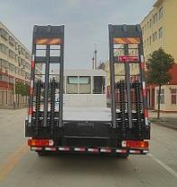 欧曼后双桥平板运输车多方位图片二