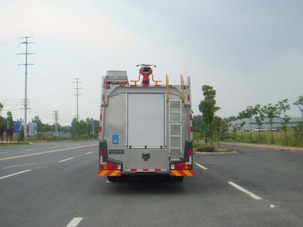 斯太尔后双桥水罐消防车多方位图片二
