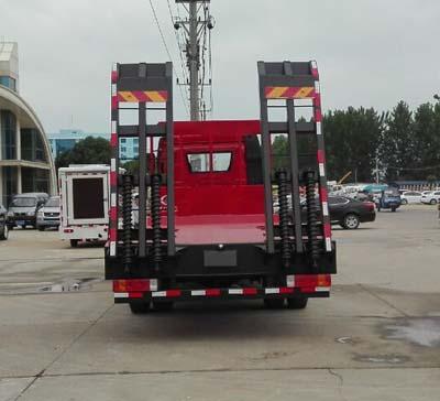 解放J6小三轴平板运输车多方位图片四