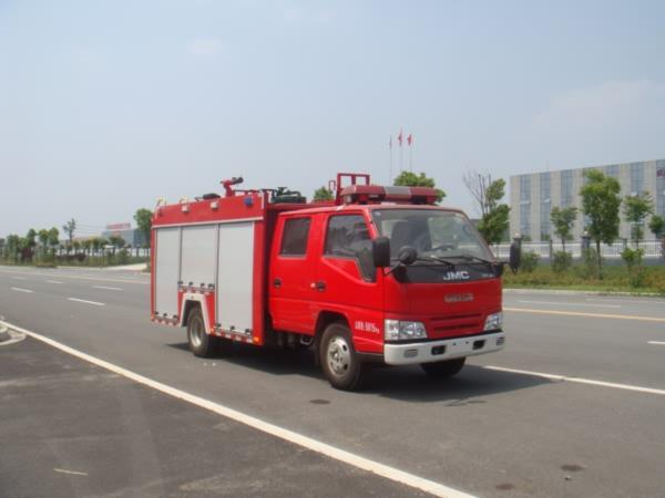 江铃水罐消防车