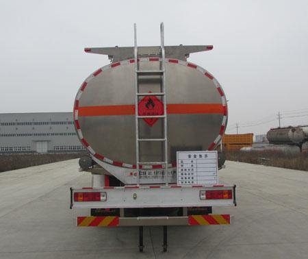 解放前四后八铝合金运油车31.6立方多方位图片三