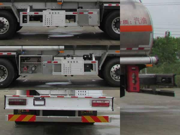 东风天龙铝合金运油车30.3立方多方位图片四