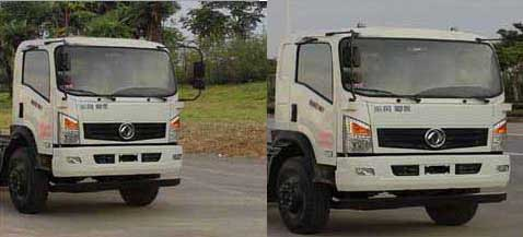 国五东风6方压缩式对接垃圾车多方位图片三