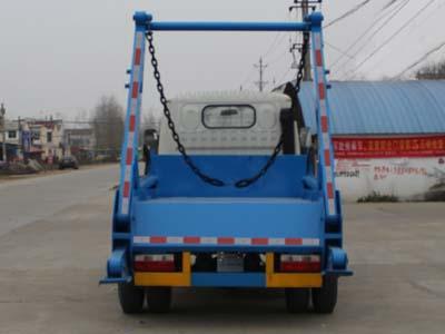 程力威牌CLW5070ZBSD5型摆臂式垃圾车多方位图片四