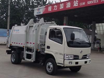 国五东风压缩式对接垃圾车多方位图片一