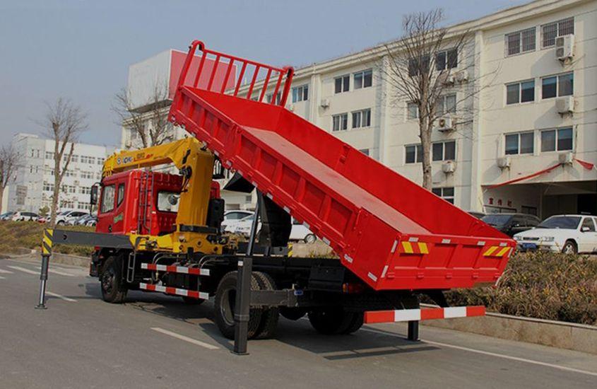 国五东风6.3吨,8吨随车吊