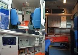 程力威牌CLW5041XJHJ5型救护车多方位图片三