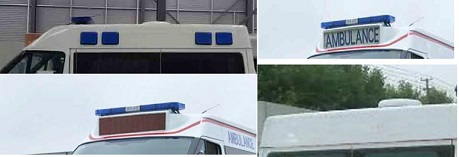 程力威牌CLW5040XJHJ5型救护车多方位图片四