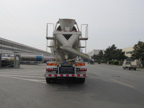 江淮后八轮混凝土搅拌运输车多方位图片四