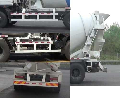 后双桥混凝土搅拌运输车多方位图片四