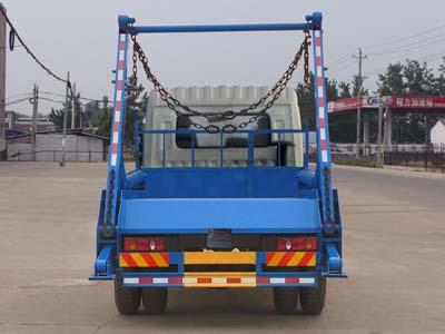 程力威牌CLW5120ZBST5型摆臂式垃圾车多方位图片三
