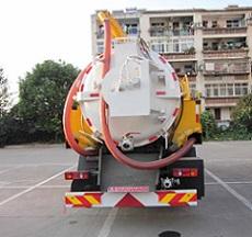 程力威牌CLW5163GQWE5型清洗吸污车多方位图片四
