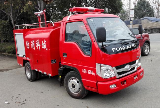 福田时代消防洒水车