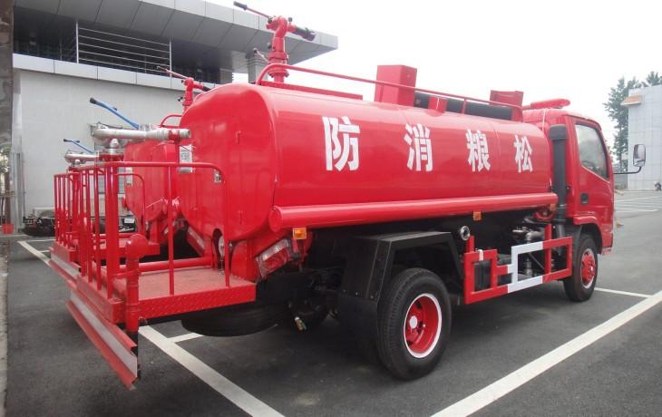 东风多里卡消防洒水车6吨多方位图片三